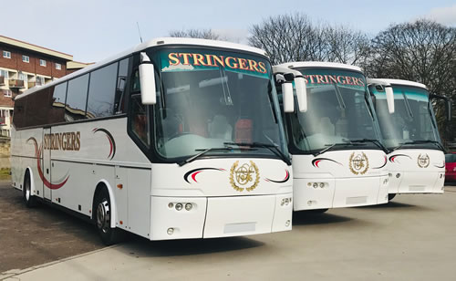 3 coaches at Stringers Coaches